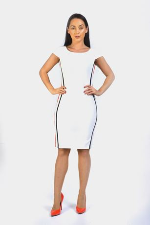 Side Stripe Bodycon Dress