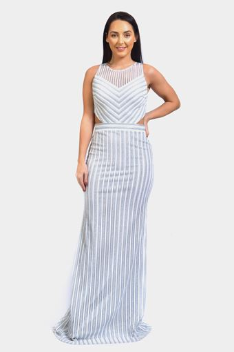 Side CutOut Long Dress